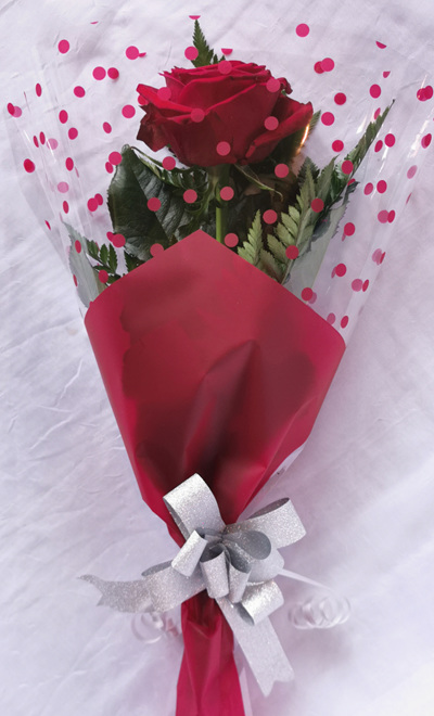 Single Wrap Rose