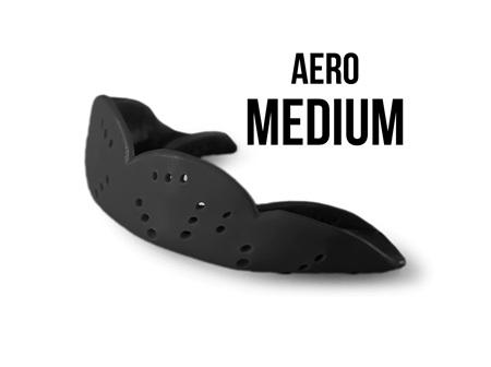 SISU Aero Mouthguard - MED Charcoal Black