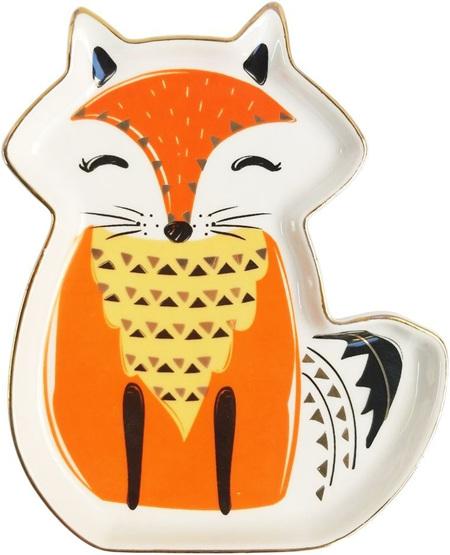 Sitting Fox Trinket Tray