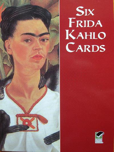 Six Cards - Frida Kahlo Art