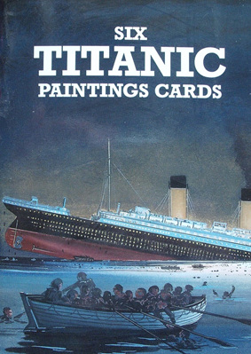 Six Cards - Titanic Paintings