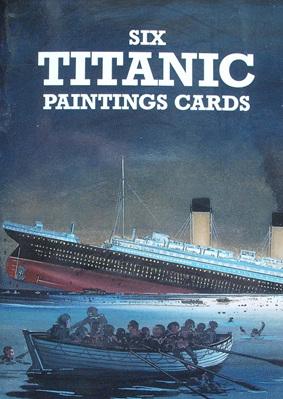 Six Cards - Titanic Paintings