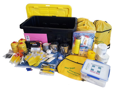 Six Person Comprehensive Emergency Kit