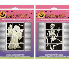 Skeleton ONLY  window silhouette