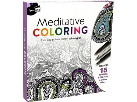 Sketch Plus Deluxe Meditative Colouring
