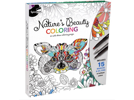 Sketch Plus Natures Beauty Colouring