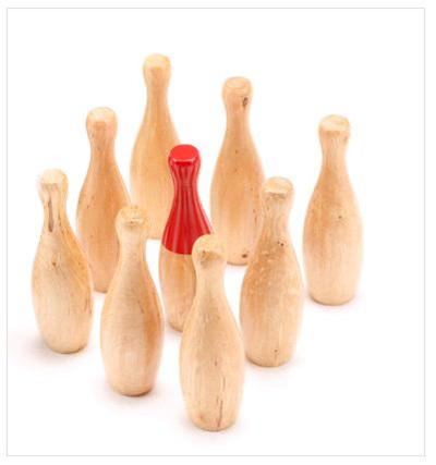Skittles  Wooden GAME