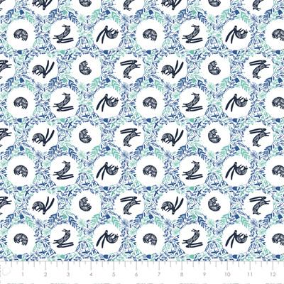 Skogen - Burrow in Blue