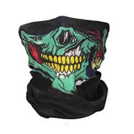 SKULL HALF MASK SCARF - COLOURFUL