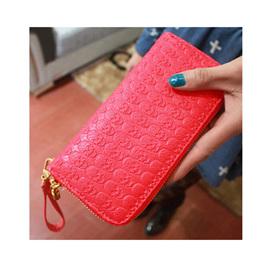 Skull Wallet - red