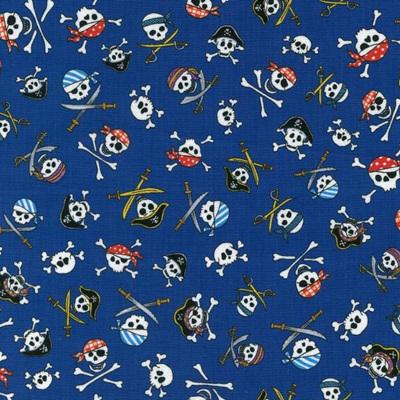 Skulls - Blue
