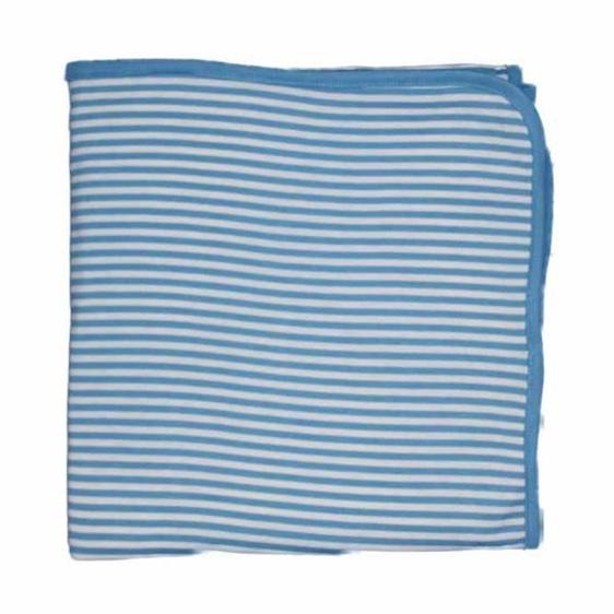 Sky Blue Woolbabe Merino swaddle on sale now