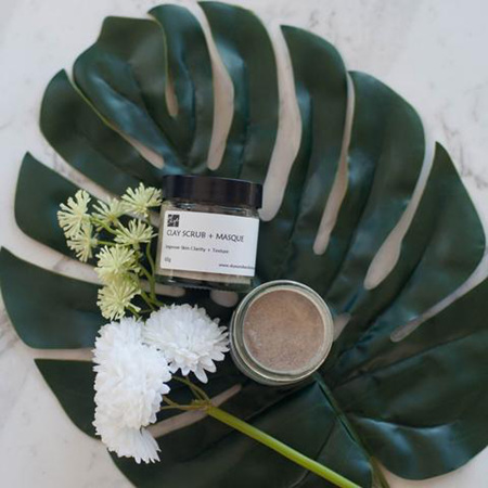 Skye - Natural Clay Scrub + Mask