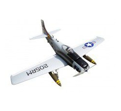 Skyraider Warbird 10cc (Matte finished) Bee version, Span 160cm, Engine 10-15cc 0.14M3 by Seagull Mo