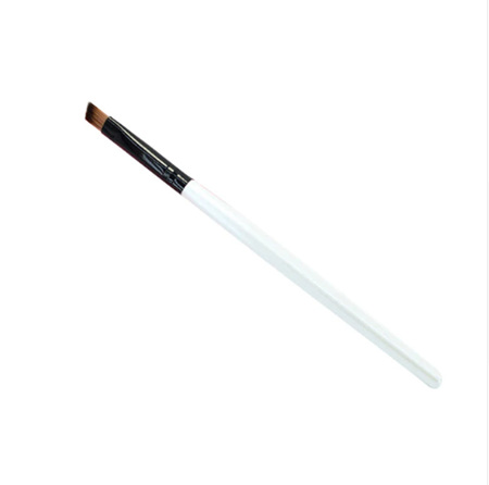 Slanted Eyeshadow Brush - White & Black