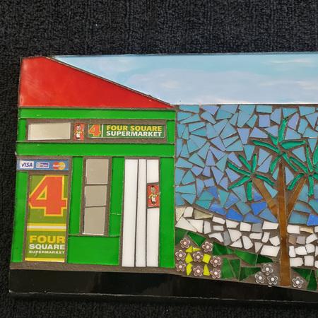 Slate Mosaic Tile #101