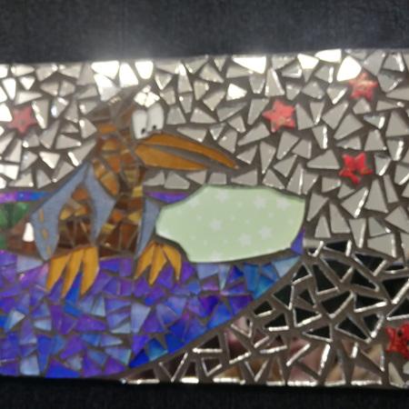 Slate Mosaic Tile #102