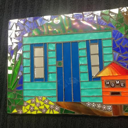 Slate Mosaic Tile #104