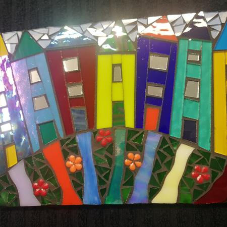 Slate Mosaic Tile #107