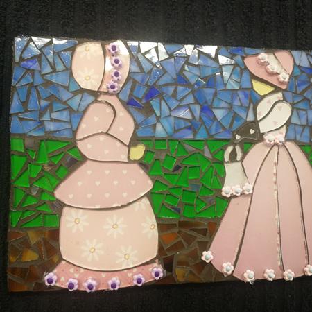 Slate Mosaic Tile #110