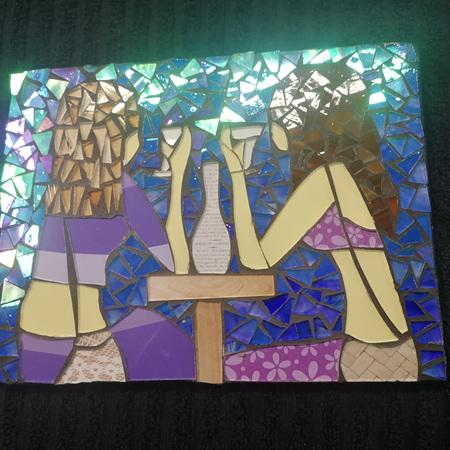 Slate Mosaic Tile #111