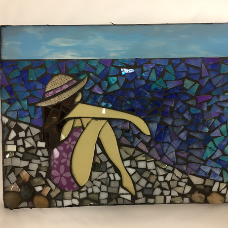 Slate Mosaic Tile #116