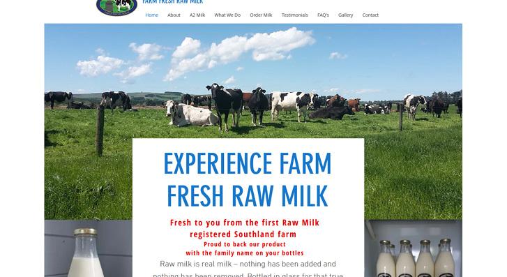Farm Fresh Raw Milk