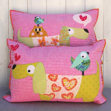 Slim & Slinky Cushion Pattern