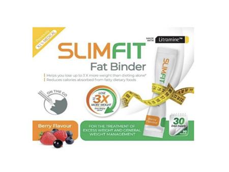 SLIMFIT Fat Binder Berry Sachet Twin Pack 2x90s