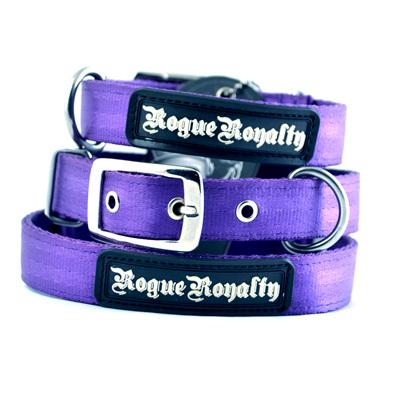 Rogue Royalty SupaTuff Purple Slimline Collar