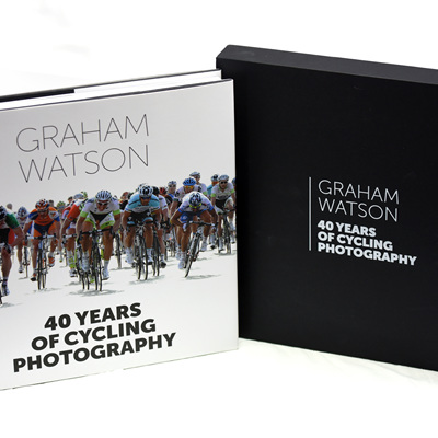 Slip cover book - 40 Years of Cycling Photography