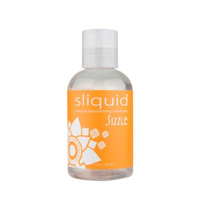 Sliquid Naturals Sizzle Stimulating Lubricant