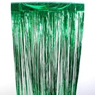 Slit Foil Curtain 2 Ply Green - 910mm x 1.82m