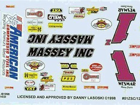 Slixx Danny Lasoski Sprint Car Decals