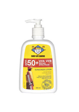 SLSNZ 400ml Pump SPF50+ Sunblock