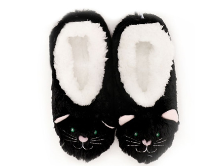Slumbies Cat Furry Foot Pals Med