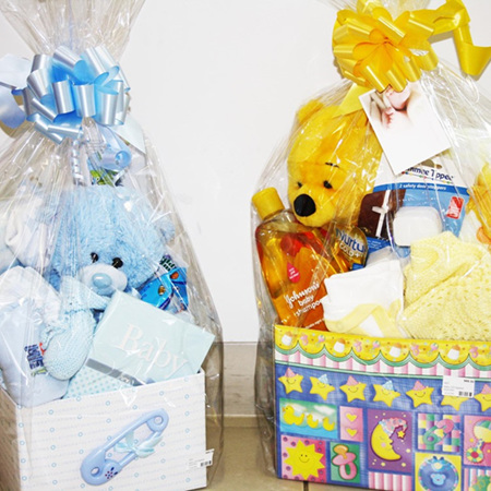 Small Baby Gift Basket
