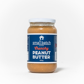 Small Batch Crunchy Peanut Butter 380gm