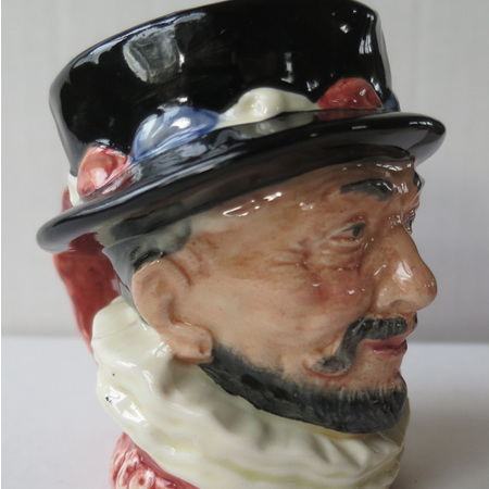 Small Beefeater character jug D6233