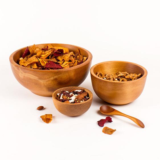 small bowls display