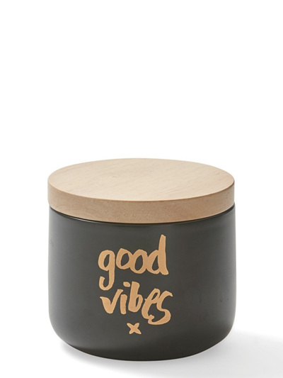 Small Canister Black - Good Vibes