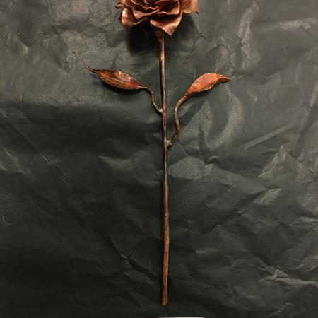 Small Copper Rose #2