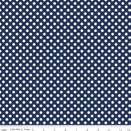 Small Dot Navy C350