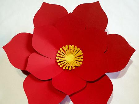Small Edna paper flower