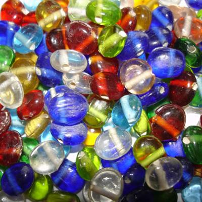 Small Flat Ovals Bead Mix