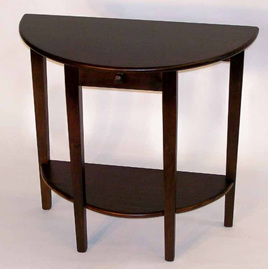 Quail Half Round Table