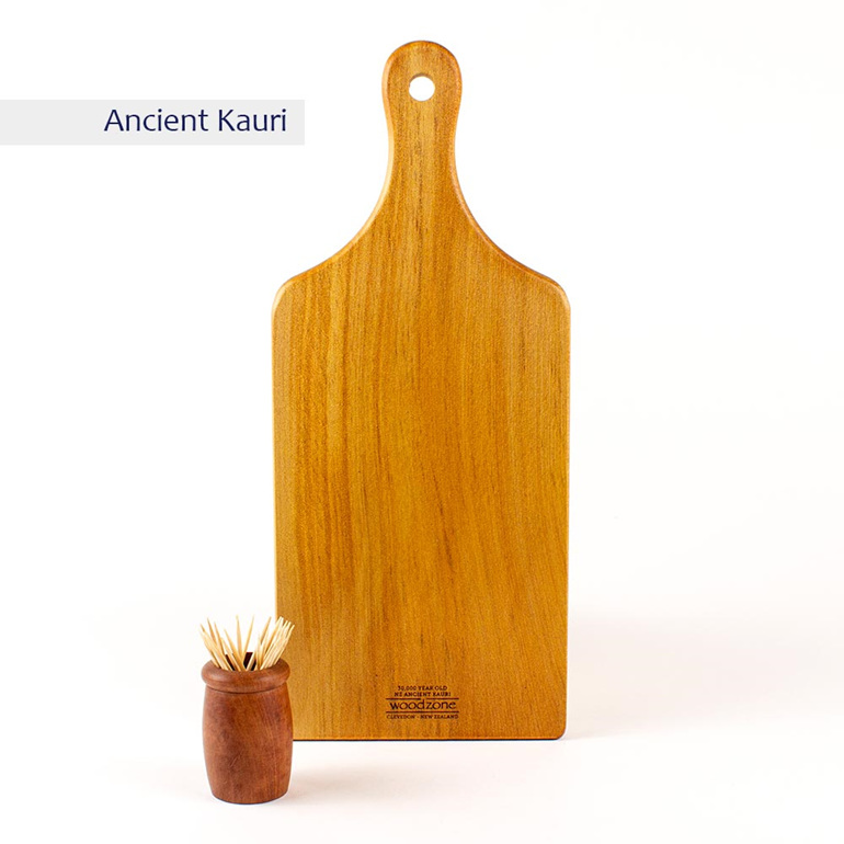 small handle board ancient kauri