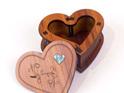 small heart box lid off