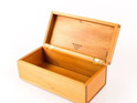 small hinged trinket box made from kauri - made in new zealand