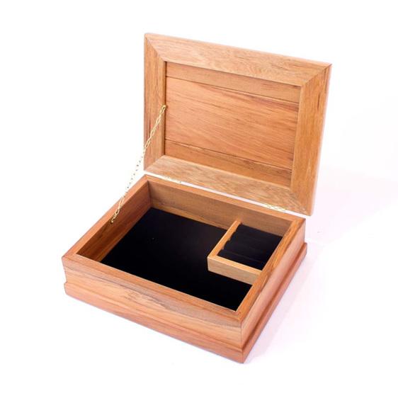 small jewellery box black